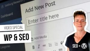 WordPress: Asennus, setup SEO tekstejä 5 jaksot - Opi ilmaiseksi videoita