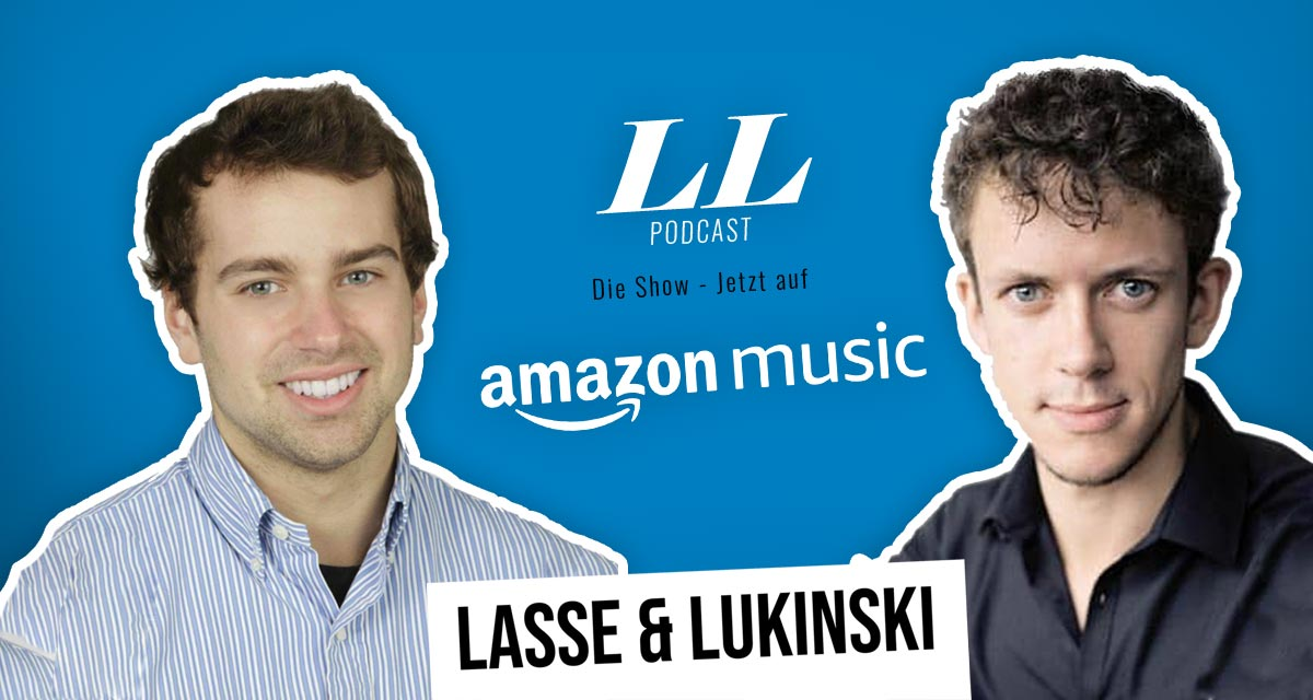 Amazon Music: Lasse & Lukinski Show nyt myös Amazonissa!