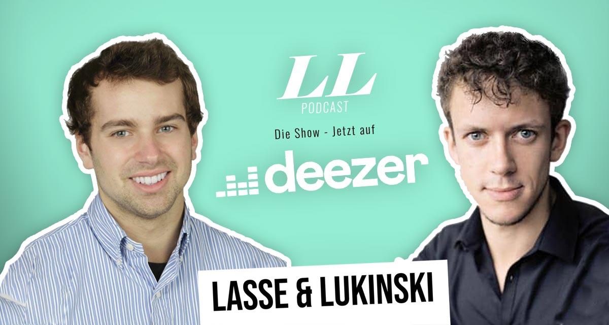 Deezer: Lasse & Lukinski Show nyt myös Deezerissä!