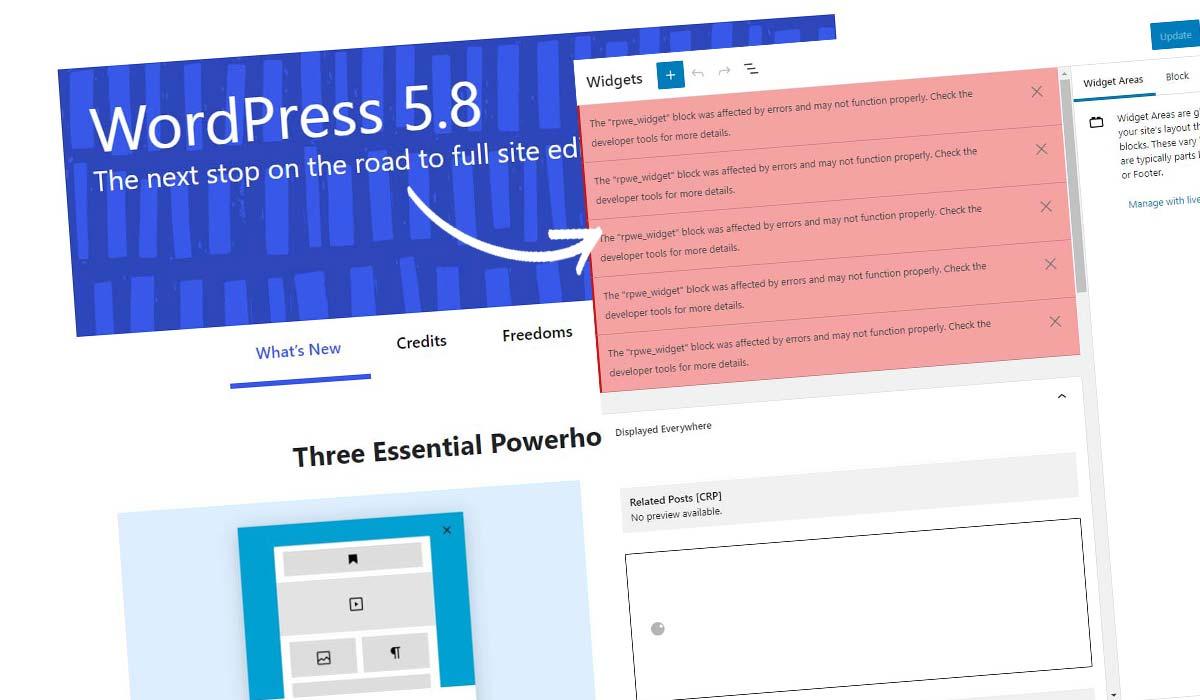 Deaktivoi WordPress Block Widget! Miten se tehdään 5 sekunnissa + ohjeet